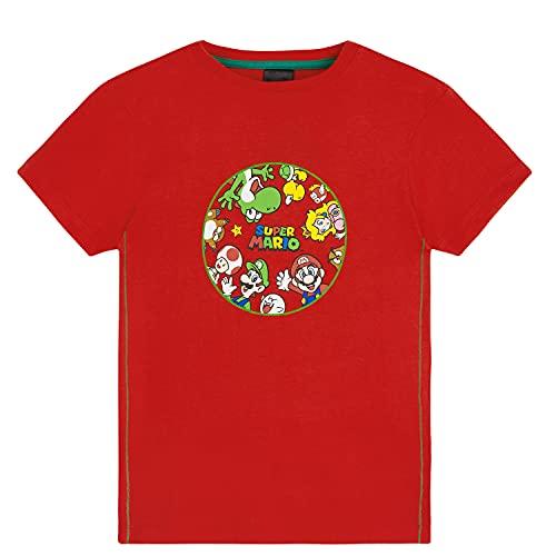 Super Mario Camiseta Niño, Camisetas de...