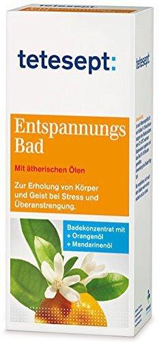 tetesept Entspannungsbad, Badekonzentrat mit Orangen- und Mandarinenöl - 125 ml