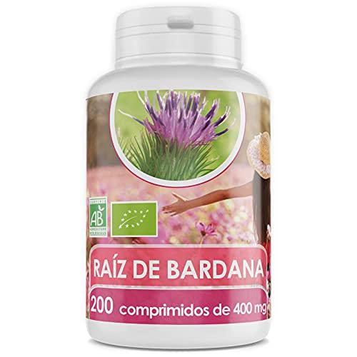 Bardana Orgánica - 400 mg - 200 comprimidos