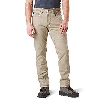 5.11 Tactical Men' Defender-Flex Pants-Slim, Stone, 34x32