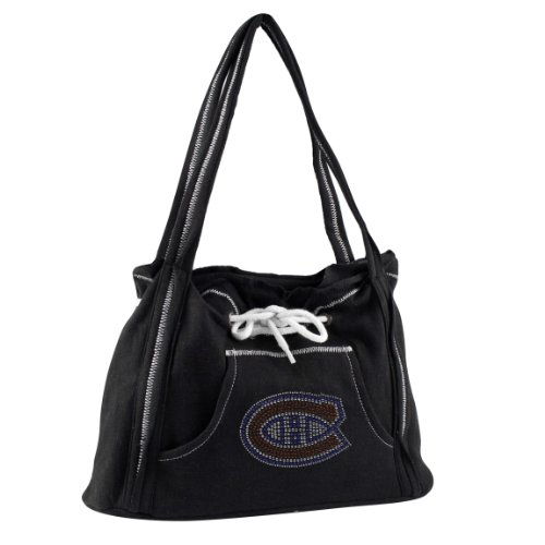 Littlearth NHL Montreal Canadiens Sport Noir Hoodie Geldbörse, schwarz