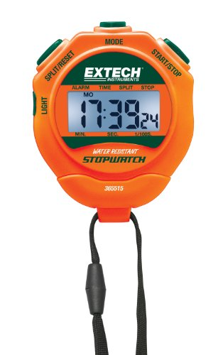 Extech 365515 Stopwatch/Clock with Backlit Display