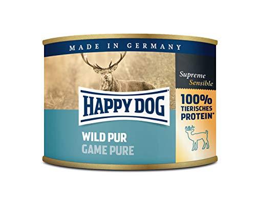 bester Test von happy dog nassfutter Glücklicher Hund Wild Par |  Nassfutter 6X200g
