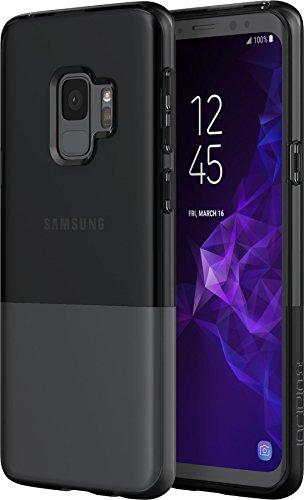 Incipio NGP Pure Case für Samsung Galaxy S9 - von Samsung zertifizierte Schutzhülle (smoke) [Stoßfest I Reißfest I Flexibel I Transparent] - SA-923-SMK