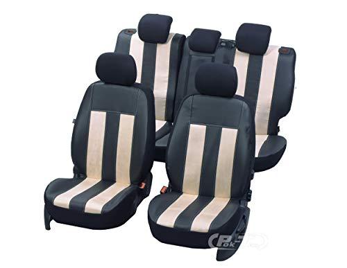 Nieuwe serie - GT universele stoelhoezen compatibel met Suzuki Swift V 2010-2016 5-deurs eenvoudige montage een set hoezen GT VANIL