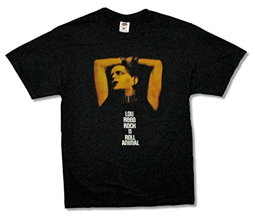 Lou Reed Rock N Roll Animal Black T Shirt New Merch