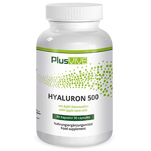 Plusvive Hyaluronic Acid with Apple Stem Cells, (500 mg)