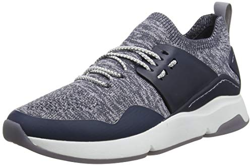 Cole Haan Zerogrand All-Day Trainer, Zapatillas para Mujer, Azul Ombre Blue/Lavender Aura/Knit/Optic White, 35.5 EU