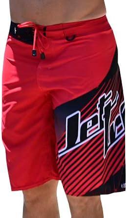 Jettribe Jet Ski Men's Board Shorts | Key Lanyard D-Ring | No Liner | Quick Dry Hyper Series
