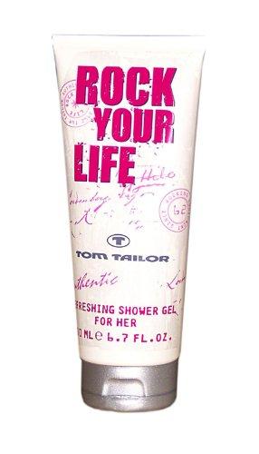 TOM TAILOR Rock Your Life Woman Duschgel 200 ml, 1er Pack (1 x 200 ml)
