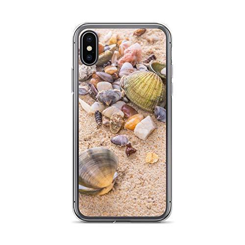 blitzversand Handyhülle NORDSEE WATT kompatibel für Huawei G8 Mini Muscheln Steine Strand sammeln Schutz Hülle Case Bumper transparent rund um Schutz M8