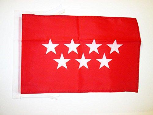 AZ FLAG Bandera de la Comunidad DE Madrid 45x30cm -