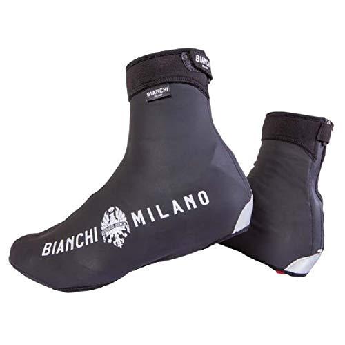 BIANCHI MILANO - Copriscarpe Termici Invernali Windproof Modello Vadena Colore Nero 4000, Taglia M 39-41