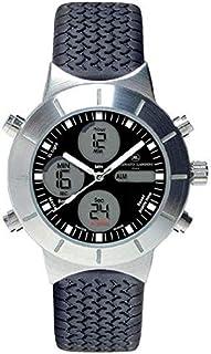 Renato Landini Millennium Men's Black Dial Rubber Band Watch - RM6104
