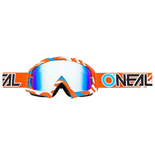 O'NEAL B10 Stream Goggle Goggle MX DH Brille orange/weiß/Radium Oneal