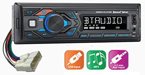 KIOTI Tractor NX RX DK CK Direct Plug N Play AM FM Bluetooth AUX MP3 Stereo Radio with 16 Pin product image