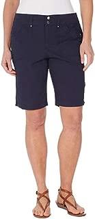 Gloria Vanderbilt Beverly Style Womens Shorts in Midnight Affair, Size 14