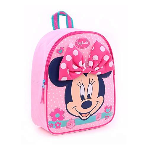 Disney Minnie Mouse Kinderrucksack für Mädchen - Rosa