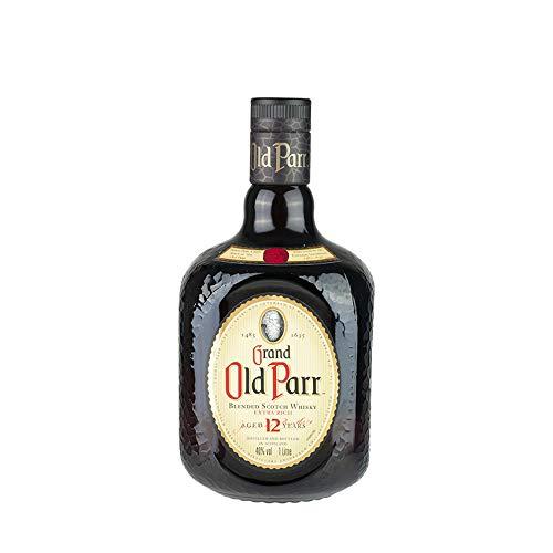 Schottischer Whisky, 12 Jahre, 40% vol, Flasche 1l - GRAND OLD PARR Blended Scotch Whisky 1 Liter
