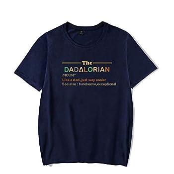 HuaXiu The Dadalorian Definition Like A Dad Just Way Cooler T-Shirts for Men Women  XXS-4XL