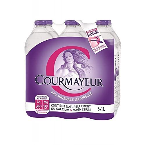 COURMAYEUR - Eau Minérale 6X1L - Vendu Par Unité