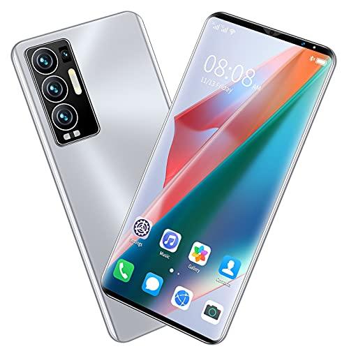 Teléfonos móviles, teléfono Inteligente Android sin SIM y Desbloqueado, Pantalla HD de 6.0 Pulgadas, batería de 6000 mAh, teléfonos celulares duraderos con cámara Dual SIM, Negro