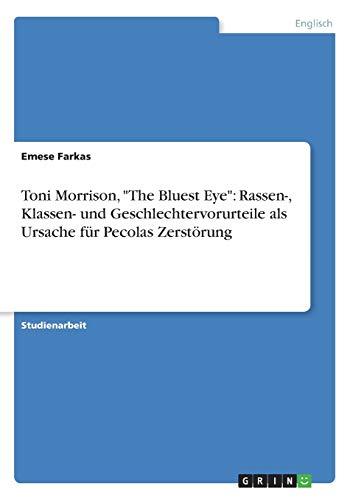 Toni Morrison, The Bluest Eye: Rassen-, Klassen- und Geschlechtervorurteile als Ursache für Pecolas Zerstörung