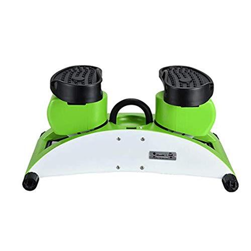 SISHUINIANHUA Mini Studiogeräte Schwingen Stepper-Aerobic-Übung Arm-Schenkel Exerciser Fitness Maximale Belastbarkeit 100kg, UPort für die Musik hören