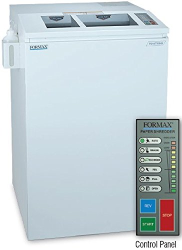 Check Out This FORMAX FD 8730HS High Security Paper/Optical Media Cross Cut Shredder, 14 - 15 sheets...