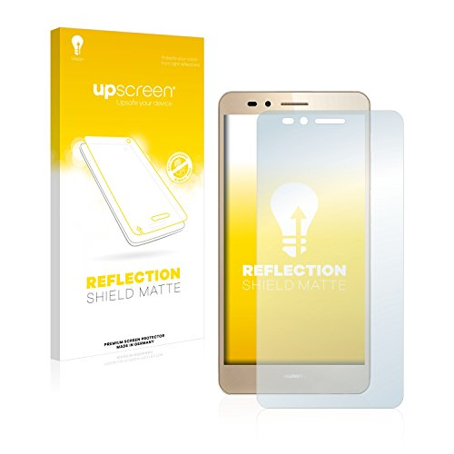 upscreen Entspiegelungs-Schutzfolie kompatibel mit Huawei GR5 – Anti-Reflex Bildschirmschutz-Folie Matt