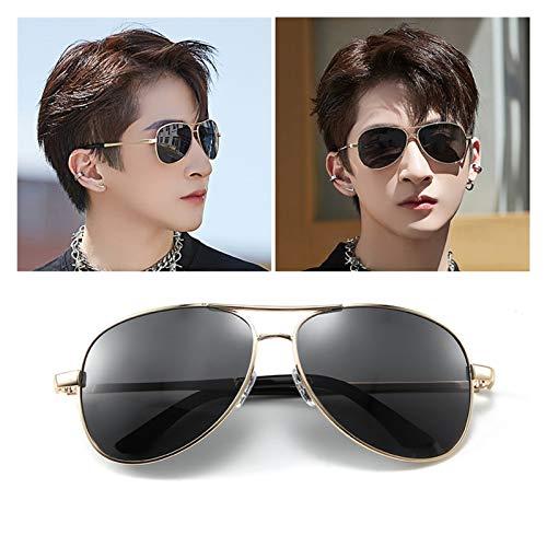 SSN Gafas De Sol Polarizadas Gafas De Sol para Hombre Trend Conductor Special para Conducir Tormenta Ojos Guapos (Color : D)