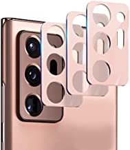 Suoman 3-Pack for Samsung Note 20 Ultra Camera Lens Protector - [Aluminum alloy] [Not Affect Flash] Camera Lens Protector for Samsung Note 20 Ultra 5G - Mystic Bronze