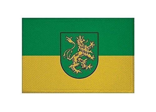 U24 Aufnäher Rudolstadt Fahne Flagge Aufbügler Patch 9 x 6 cm