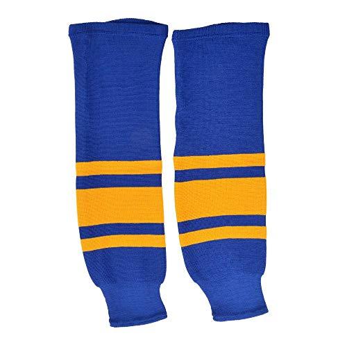 Sherwood SHER-Wood Eishockey Stutzen Team Sweden, Größe Senior/SR, blau-gelb, Stutzen Eishockey Nationalmannschaft Schweden