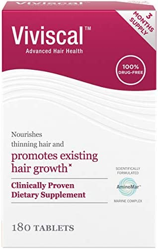 Viviscal Women s Hair Growth Supplements with Proprietary Collagen Complex 1 Selling for Clinically product image