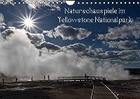 Naturschauspiele im Yellowstone Nationalpark (Wandkalender 2022 DIN A4 quer): Yellowstone Nationalpark (Monatskalender, 14 Seiten )