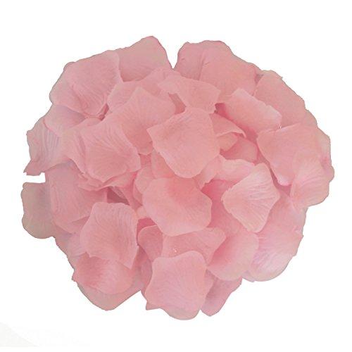 AFrom Here Silk Rose Petals Wedding Flowers Favors 500PCS (Light Pink)