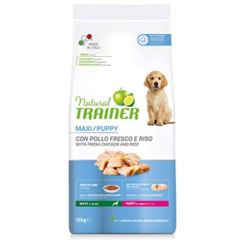 Natural Trainer Cibo per Cani Maxi Puppy 12kg