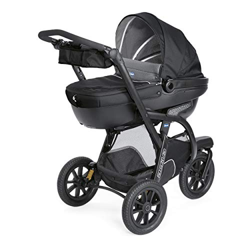 Chicco Trio Activ3 Top Poussette Jet Black
