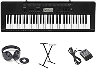 Casio CTK-3500 Premium Keyboard Package with Headphones,...