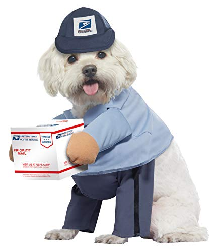 California Costumes Pet Us Mail Carrier Pup