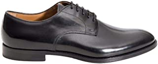 Luxury Fashion | Doucal's Men DU1003MONZUF028NN00 Black Leather Lace-up Shoes | Spring-summer 20