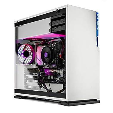 Skytech Shiva Gaming PC Desktop – AMD Ryzen 5 5600X 3.7GHz, RTX 3070 8GB GDDR6, 16GB DDR4 3200, 1TB NVMe SSD, 650W Gold…