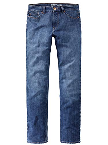 Paddocks`s Herren Jeans Ranger Pipe - Tight Fit - Blau - Blue Stone + Soft Use, Größe:W 34 L 36, Farbauswahl:Blue Stone + Soft Use (5602)