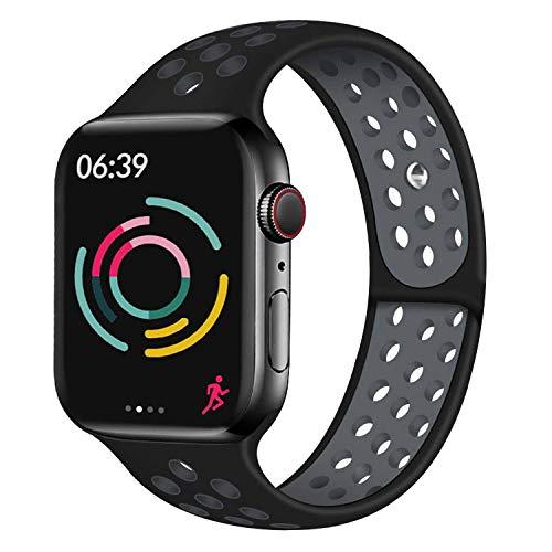 Cinturino Younsea Compatibile con Apple Watch 44mm 42mm 40mm 38mm, Cinturino di Ricambio in Silicone Morbido e Delicato sulla Pelle, Compatibile con iWatch Serie 5/4/3/2/1