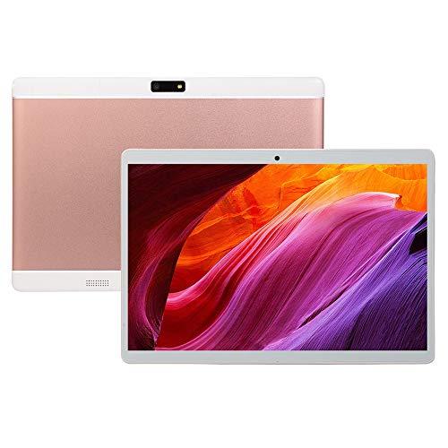 CRZ Tableta Android de 10.1 Pulgadas, Procesador Octa-Core de Tarjeta Dual SIM, Pantalla IPS HD, WiFi, Bluetooth, GPS, Batería de 4000mAh, con Almacenamiento de 16GB