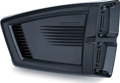 Kuryakyn 9351 Hypercharger ES Air Cleaner/Filter Kit for 2007-19 Harley-Davidson XL Motorcycles, Black