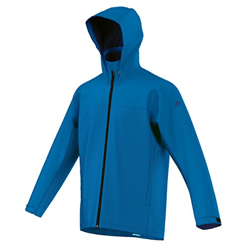adidas Wandertag ClimaProof Outdoor Solid Blue Jacke (52)