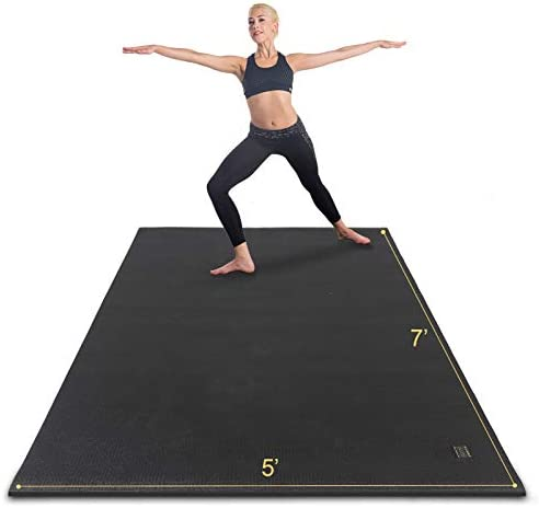 Gxmmat Large Yoga Mat Non Slip 7 x5 x9mm Thick Workout Mats for Home Gym Flooring Extra Wide product image