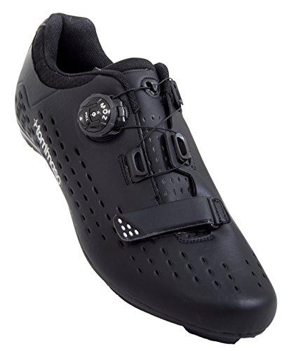 Tommaso Strada Elite - Quick Lace Style Road Bike Cycling Shoe - 48 Black